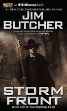 The Dresden Files: Storm Front 1 by Jim Butcher (2015, CD, Unabridged)