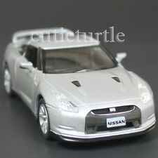 Kinsmart 2009 Nissan Skyline GT R R35 1:36 Diecast Toy Car Silver