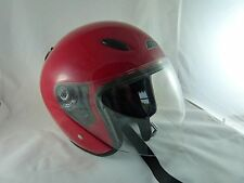 GLX Open Face Motorcycle Helmet Size Large (L)