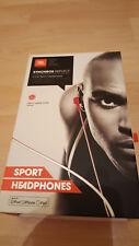 JBL Synchros riflettono, In-Ear Sport Cuffie, in-line-controllo per iOS, Rosso