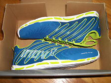 NEW IN BOX SIZE 6.5 INOV ROAD-X LITE 155 MENS RUNNING SHOES (AZURE/LIME/BLUE)
