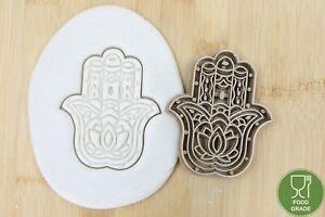 Hamsa Hand Lotus Fatimas Hand Keksstempel/Ausstechform keksausstecher PLA ca.8cm