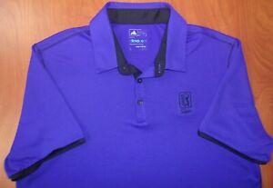 Adidas Golf TPC Sawgrass Climacool Mesh Tour Performance Polo Shirt L