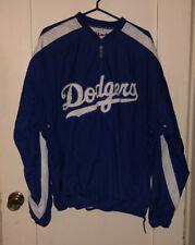 Los Angeles Dodgers Majestic MLB 1/4 Zip Pullover Windbreaker Jacket XL