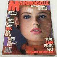 VTG Mademoiselle Magazine: February 1983 - Jenny Howarth Cover - No Label