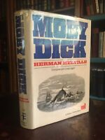 VINTAGE Moby Dick By Herman Melville Modern Library Edition Hardcover