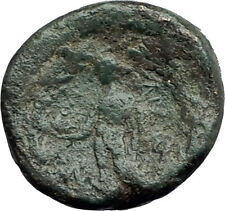 SARDES Lydia Genuine 133BC Authentic Ancient Greek Coin HERCULES & APOLLO i62672