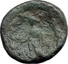 SARDES Lydia Genuine 133BC Authentic Ancient Greek Coin HERCULES & APOLLO i62672