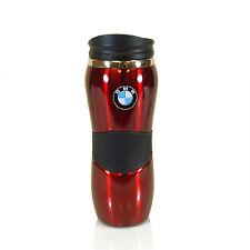 BMW Stainless Steel Red Travel Coffee Mug