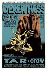 MINT & SIGNED Craw Stretchmarks Art Show 1995 Euclid Hess Poster 34/250