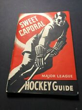 1940-41 Sweet Caporal Hockey Guide 151 pages Excellent Condition