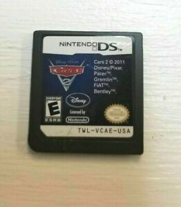 Cars 2: The Video Game (Nintendo DS, 2011) NTSC GAME CARTRIDGE ONLY ~AUTHENTIC~