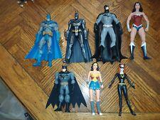 DC Superhero Action Figure Batman / Wonder Woman Lot