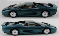 TOP MARQUES 039A JAGUAR XJ220 resin model car metallic green 1992 1:18th scale