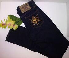 Ralph Lauren Sport Thompson Jeans NWT Dark Wash Denim SZ 26 Stretch Skinny Low