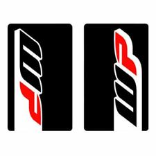 4mx Fork Décalques WP Black Stickers Fits DERBI 50 Senda R DRD PRO 09-10