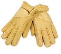 Lederhandschuhe Cowboy Western gelb Leder Biker Handschuhe Arbeitshandschuhe
