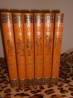 Daniel Vierge : Don Quichotte en 5 volumes + Pablo de Ségovie - L'Ormeraie 1976