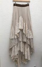 Bohemian Festival/Wedding Maxi Skirt Velvet/Lace Hippie Studio Costume Dept S/M