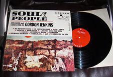 SOUL OF A PEOPLE Gordon Jenkins NM Time Stereo LP RED MITCHELL Felix Slatkin