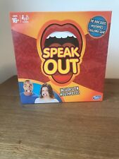Hasbro Speak out Party Board Game (C2018)