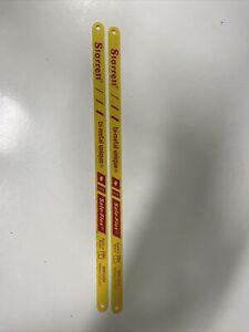 """Starrett Bi-Metal Safe Flex Hacksaw Blades 12"""" / 300mm 32tpi Pack of 2"""