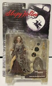 McFarlane Toys The Crone Sleepy Hollow Snakes Pop Out Of Eyes Action Figure C1