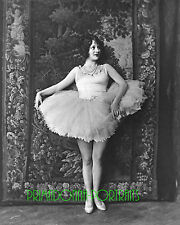 HELENE COSTELLO 8X10 Lab Photo 1920s Silent Era Ballerina, Ballet Slippers Scene