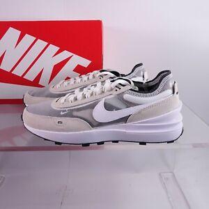 Nike Men's Waffle One Shoes DA7995-100 Summit White/White-Black Sizes 9.5-15