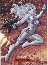 Marvel Masterpieces 2007 Base Card #76 Silver Sable