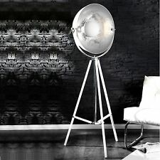 DESIGN STEHLEUCHTE SPOTLIGHT | weiß 160cm | Lampe, Stehlampe Rampenlicht zuhause