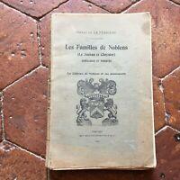 Henri La Perrière Famiglie Di Noblens Il Jouan Cheynier Troyes Montgolfier 1925