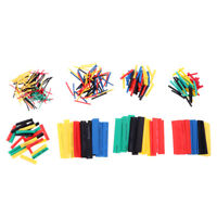 328Pcs Heat Shrink Cable Wrap Assorted Tubing Electrical Wire Sleeve 9 Size
