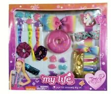 Jojo Siwa My Life 18� hair accessory Play Set, Nib Very Rare 27 Pieces