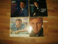 Bobby Vinton 4 LP's blue velvet the big ones songs for lonely nights