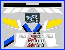 Adesivi per YAMAHA SUPERTENERE 750 1989 replica originali