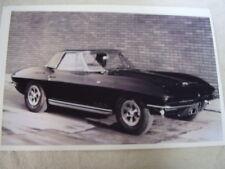 1965  CHEVROLET CORVETTE   11 X 17  PHOTO  PICTURE