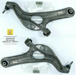 2x GENUINE EO RENAULT CLIO 197 200 RS SPORT FRONT LOWER WISHBONE ARMS 8200725845