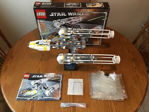 COMPLETE LEGO Star Wars UCS 10134 Y-Wing Attack Starfighter