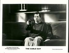 Matthew Broderick face close up in The Cable Guy 1996 original movie photo 24032