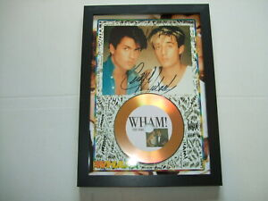 WHAM    SIGNED  DISC 76