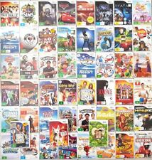 Nintendo Wii Games Choose Your Own Titles - Wii Selection - FREE FAST POSTAGE