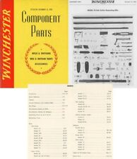 Winchester 1950 Component Parts Catalog