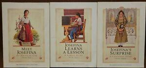 American Girl Josefina Lotnof 3 Books