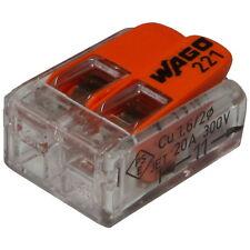 WAGO 2-polig Compact Verbindungsklemme