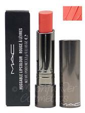 MAC Huggable Lipcolour Lipstick ~ FASHION FORCE ~ Warm Soft Coral  New & Boxed