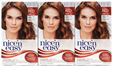 3 tinte Clairol Nice  n Easy permanente nacido Rojo 5WR 109A Naturales  Cálidos Auburn b69f211975bd