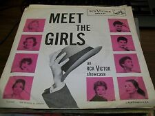 "Meet The Girls-An RCA Victor Showcase-7"" 45-Picture Sleeve-NM-Vinyl Record"