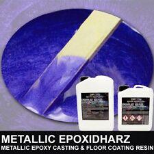 Epoxidharz HKS LILA PURPLE PEARL Metallic Boden Rivertisch Table Gießharz Resin