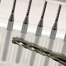 Kent 10 Fishtail 1.5mm Diameter Carbide Router Bits End Mill and Engraving Burrs